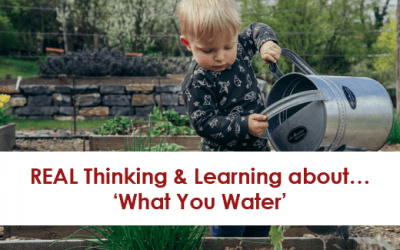 """""""What you Water will Grow."""""""