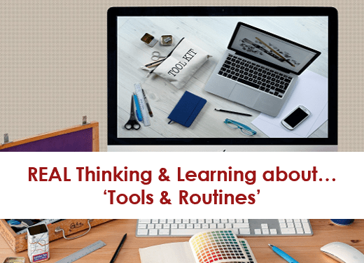 """""""Tools without Routines do not Really Work."""""""
